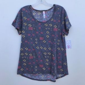 LuLaRoe Printed Classic T Shirt NWT #1738